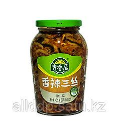 Готовый салат с грибами (капуста, перец, соус) Ji Xiang Ju, 426 мл