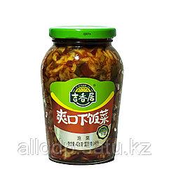 Готовый салат (капуста, перец, соус) Ji Xiang Ju, 426 мл