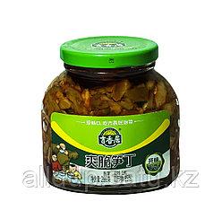 Готовый салат (капуста, редька,бамбук, соус) 266 мл