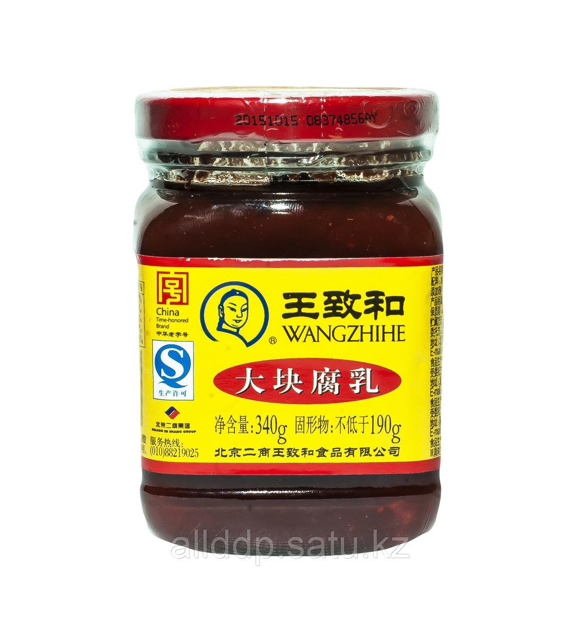 Дофу (соевый сыр) в томате WANGZHINE, 340 г