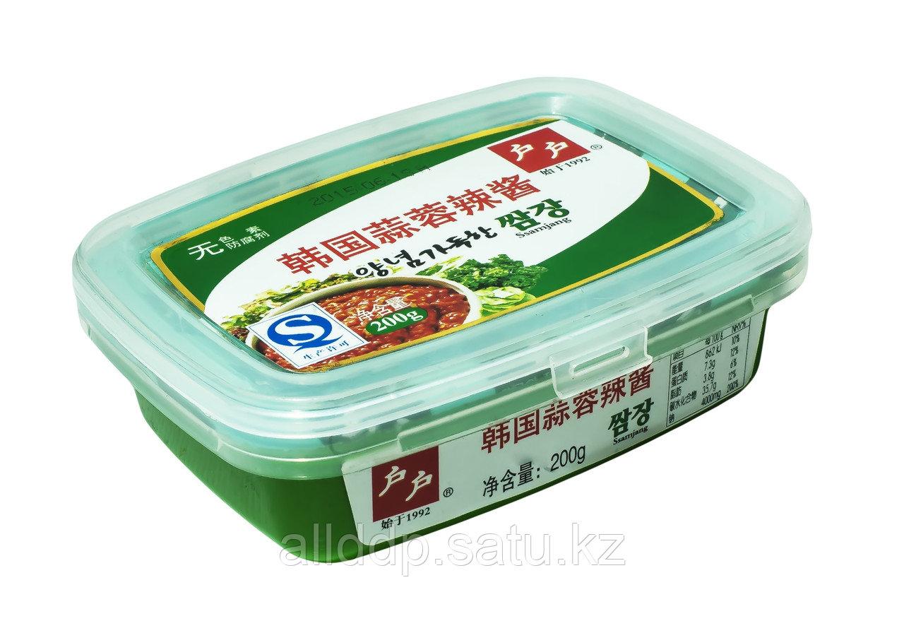 Соевая паста кислая Ssamjang, 200 г