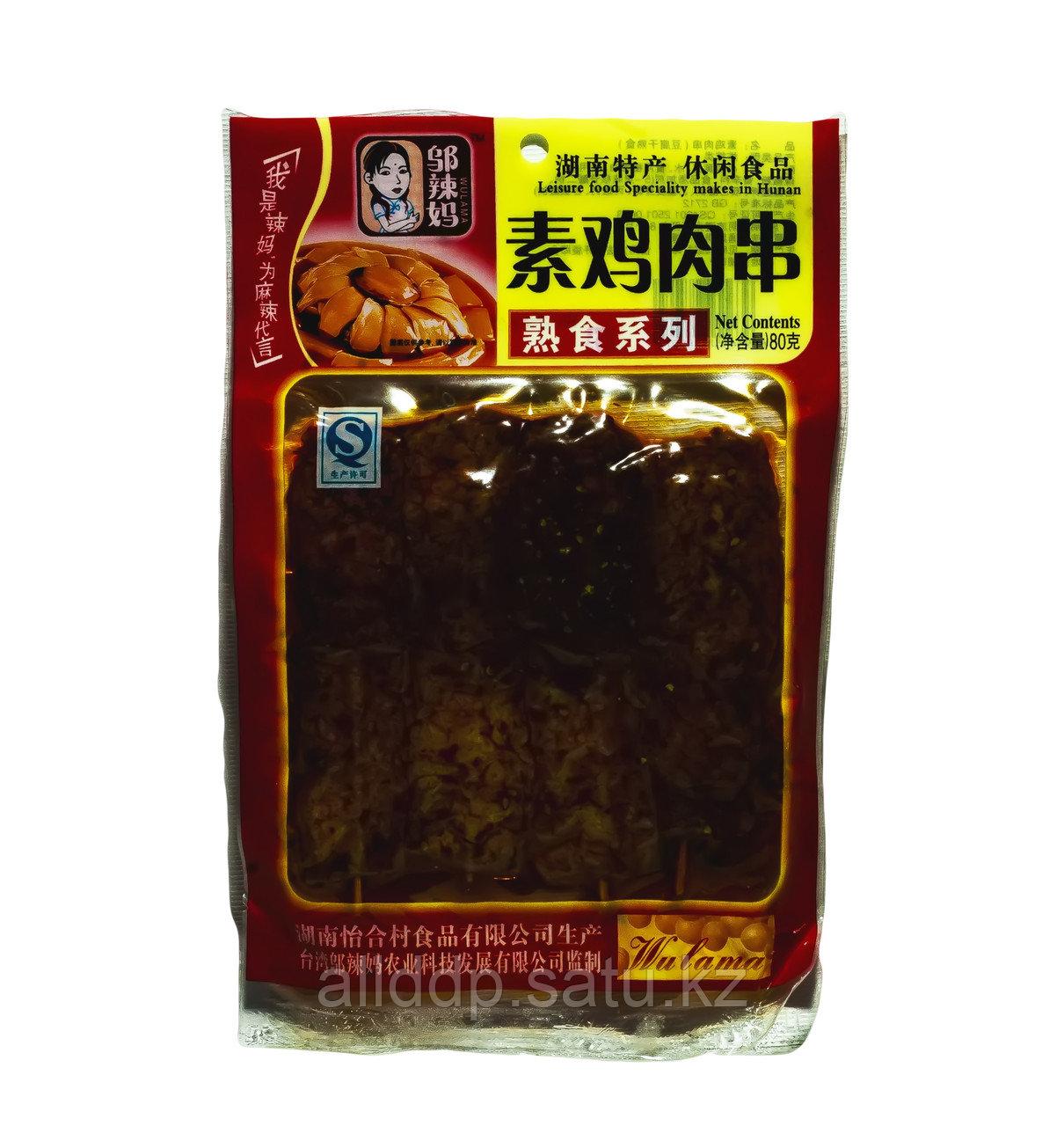 Соевое сушеное мясо Wulama, 80 г