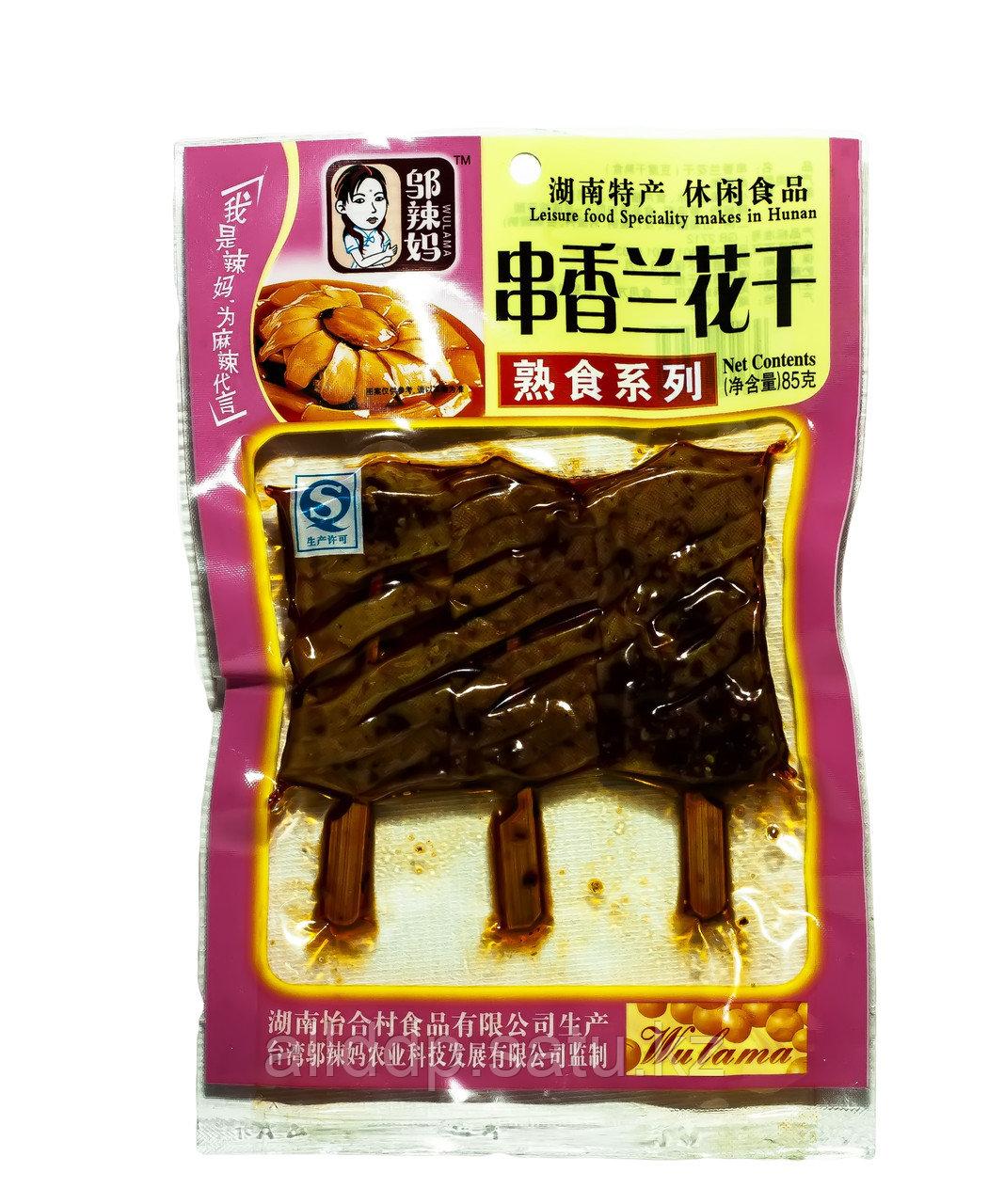 Соевое сушеное мясо Wulama, 85 г