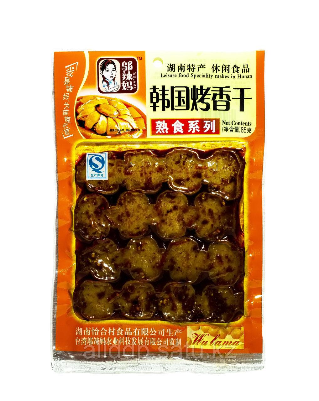 Соевое сушеное мясо Wulama, 85 г_3