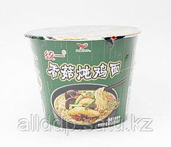 Лапша быстрого приготовления с курицей и грибами (не острая), бумажная чаша