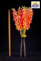 """Цветы искусственные """"Орхидея"""", h-90см, пластик/текстиль"""