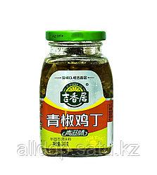 Маринованный перец зеленый Ji Xiang Ju, 240 г