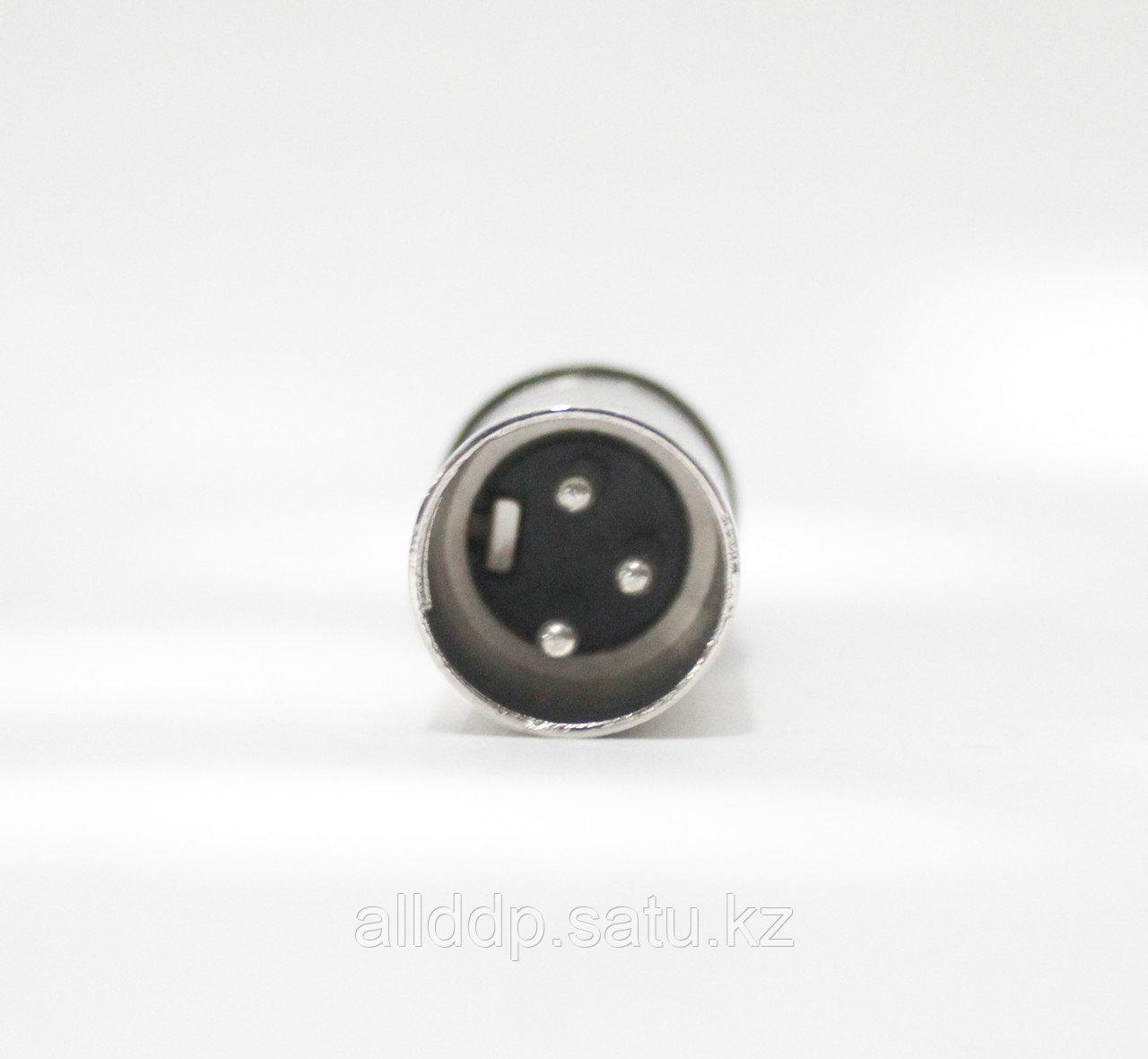 Разъём XLR (Canon) 3pin (штекер), под шнур