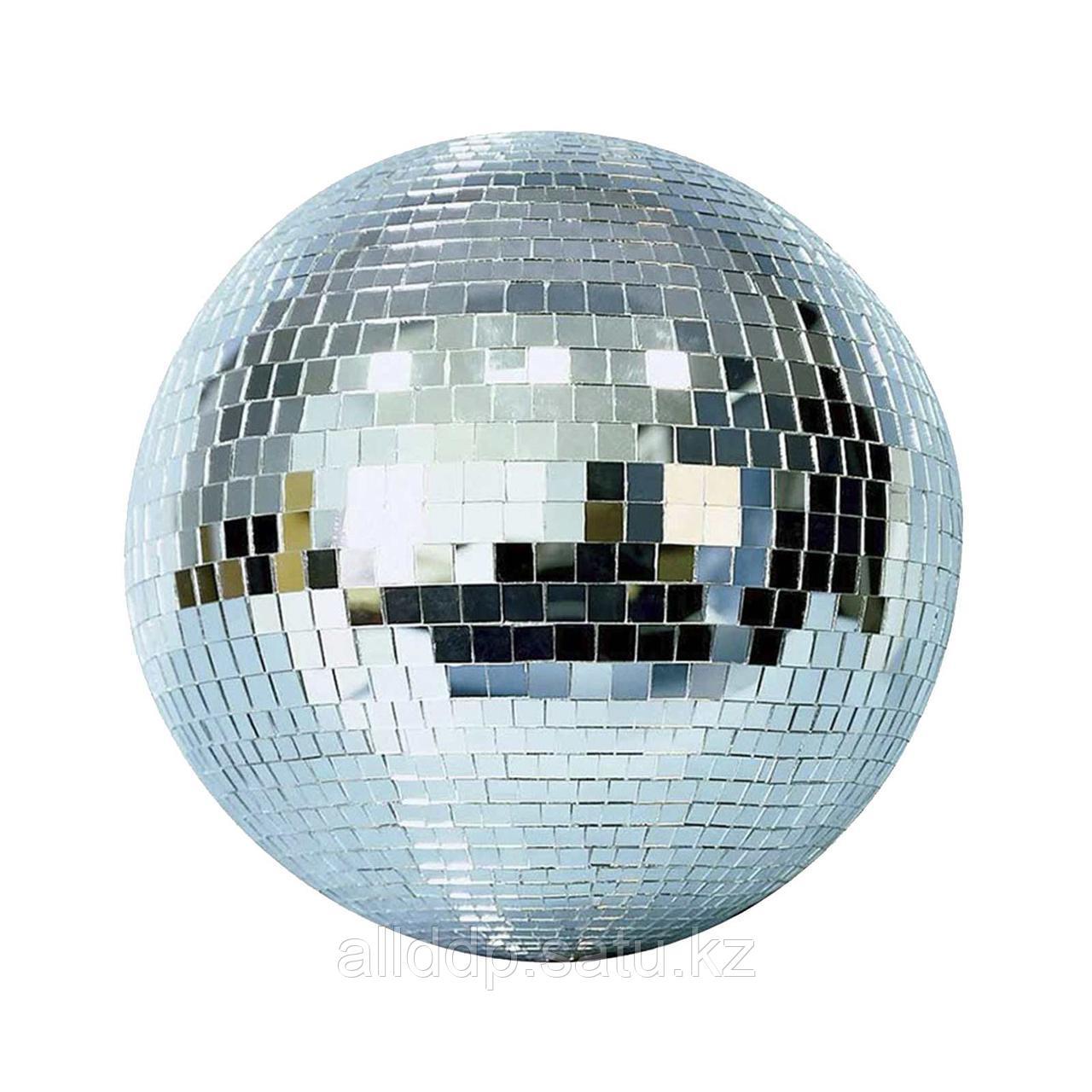 Зеркальный шар с приводом вращения, 30см