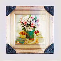 "Картина ""Натюрморт"", 33*38см, картон/пластик/стекло"