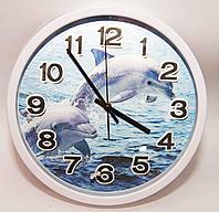 Часы настенные, 3 D, пластик