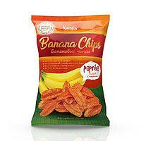 "Банановые чипсы ""Paprika"", 50 гр"