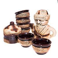 """Сервиз чайный """"Юрта"""", керамика"""