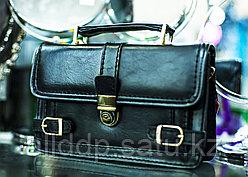 """Мужская барсетка """"FLANSA - 02"""", 26х16см (черная)"""