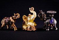 "Подсвечник ""Слон"", h-14см, керамика"