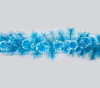 Гирлянда 2.7 м, новогодняя голубая, заснеженная ST623B-9 (пластик)