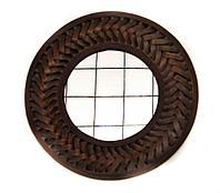 "Зеркало ""Косичка"", настенное, d-60см, бамбук"