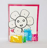 Набор для творчества - мозаика по номерам, 25*20см, картон/кожзам