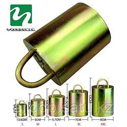 Колокольчик стальной для КРС и овец, размер M