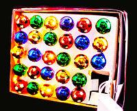 """Электрогирлянда """"Шарики"""", 28 ламп, пластик"""