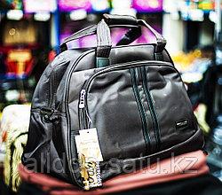 "Дорожная сумка ""Happypeople"" большого размера, 50х25х32см, (темно-коричневая)"
