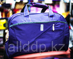 Дорожная сумка, большая 50х25х32см (фиолетовая)