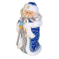 Дед Мороз, музыкальный, интерактивный, h-25см, текстиль
