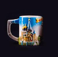 """Кружка """" Казахстан"""" в подарочной коробке ,350мл. керамика"""
