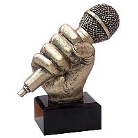 "Награда ""Музыка"", h-14см, литая, полистоун"