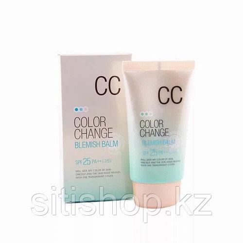 Welcos Color Change blemish balm spf 25 CC - СС крем для лица