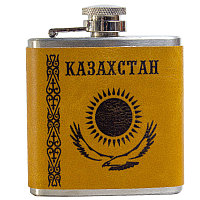 "Фляжка ""Казахстан"", 90мл, металл"