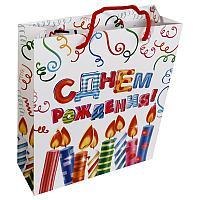 "Пакет ""Яркого праздника"", 23*27см, ламинат, картон"