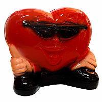 """Копилка """"Сердце большое"""", h-17см, керамика"""