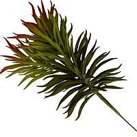 """Искусственные цветы """"Веточка зелени"""", h-22cм, резина"""
