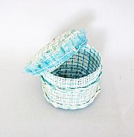 Коробочка, плетенная, 6 х 67 х 7см, текстиль