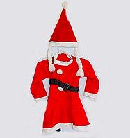 Карнавальный костюм снегурочки, 6-8 лет, текстиль