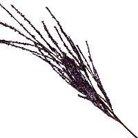 """Искусственные цветы """"Ветка сиреневых цветов"""", h-100см, пластик/текстиль"""