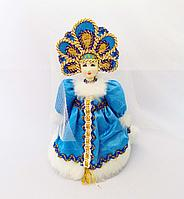 "Кукла ""Снегурочка"", h-15см, ткань"