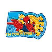 """Аппликация пластилином """"Ты супергерой!"""", 6 цв. + наклейки, 10,2×15,2см, картон/пластик/пластилин"""