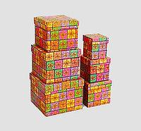 Коробки для подарков, 6шт, картон