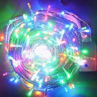 Электрогирлянда, 400 ламп, L-50м, цвет микс, пластик