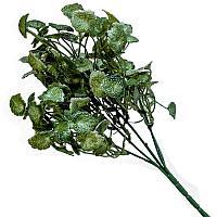 """Искусственные цветы """"Веточка зелени"""", h-30cм, пластик"""