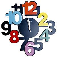 """Часы настенные """"Крупные цифры"""", 40*40см, дерево"""
