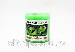 Ароматическая свеча, Apple, 5 см