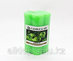 Ароматическая свеча, Apple, D 4 см