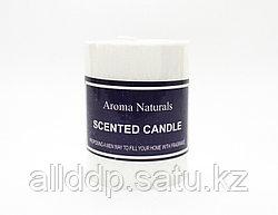 Ароматическая свеча, Aroma Naturals, белая, 8 см