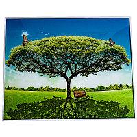 Картина-репродукция, в ассортименте, 50*42см, пластик/стекло