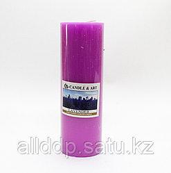 Ароматическая свеча, Lavender, 15 см