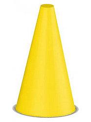 Конус для разметки 16 см желтый Россия гп14602