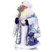 Дед Мороз с мешком, музыкальный, интерактивный h-50см, текстиль /пластик